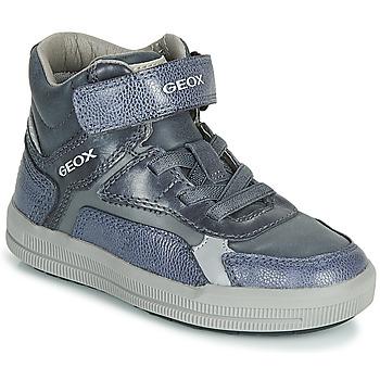 Pantofi Băieți Pantofi sport stil gheata Geox J ARZACH BOY Albastru / Gri