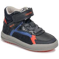 Pantofi Băieți Pantofi sport stil gheata Geox J ARZACH BOY Albastru / Portocaliu