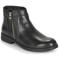 Pantofi Fete Ghete Geox JR AGATA Negru