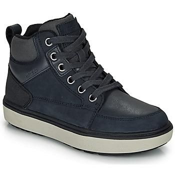 Pantofi Băieți Pantofi sport stil gheata Geox J MATTIAS B BOY ABX Albastru / Negru / Waterproof