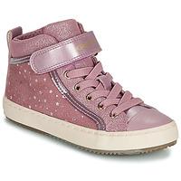 Pantofi Fete Pantofi sport stil gheata Geox J KALISPERA GIRL Roz