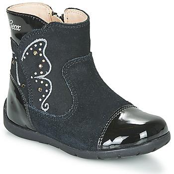 Pantofi Fete Cizme casual Geox B KAYTAN Negru