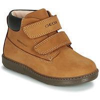Pantofi Băieți Pantofi sport stil gheata Geox B HYNDE BOY WPF Maro
