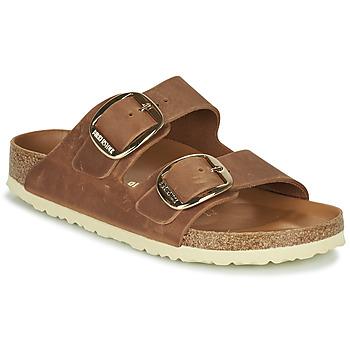 Pantofi Femei Papuci de vară Birkenstock ARIZONA BIG BUCKLE Maro
