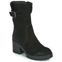 Pantofi Femei Cizme casual Les Petites Bombes BOUM Negru