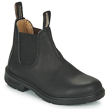 Pantofi Copii Ghete Blundstone KIDS-BLUNNIES-532 Negru