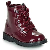 Pantofi Fete Ghete Chicco COLLES Bordowy