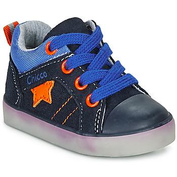 Pantofi Băieți Pantofi sport stil gheata Chicco GRADO Albastru