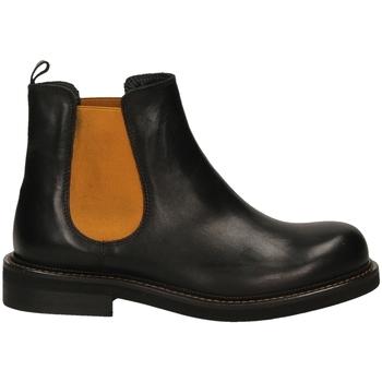 Pantofi Femei Ghete Mat:20 VITELLO nero-nero