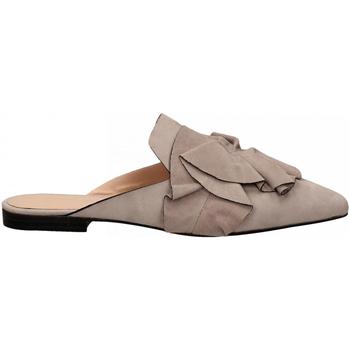 Pantofi Femei Saboti Elvio Zanon CAMOSCIO lavanda