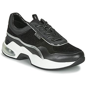 Pantofi Femei Pantofi sport Casual Karl Lagerfeld VENTURA LAZARE VELVET LACE Negru