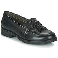 Pantofi Fete Pantofi Derby Geox JR AGATA A Black