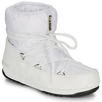 Pantofi Femei Cizme de zapadă Moon Boot LOW NYLON WP 2 White