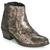 Pantofi Femei Ghete Elue par nous FLO Bronz