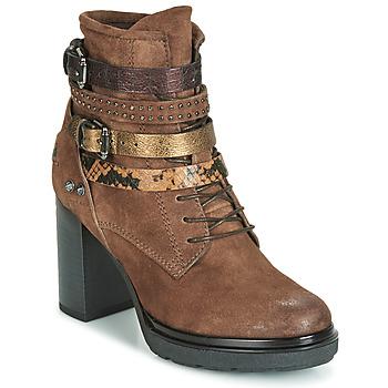 Pantofi Femei Botine Metamorf'Ose FALENCIA Camel