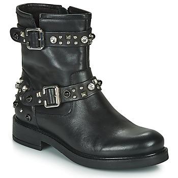 Pantofi Femei Ghete Café Noir CHARLIE Negru