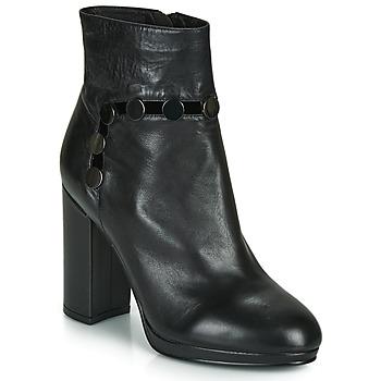 Pantofi Femei Botine Café Noir GLORIA Negru