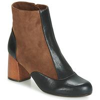 Pantofi Femei Botine Chie Mihara MICHELE Negru / Maro