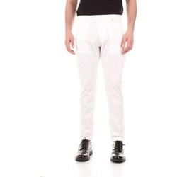 Îmbracaminte Bărbați Pantalon 5 buzunare Bicolore F2576-ZINCO Bianco