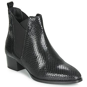 Pantofi Femei Botine Ravel LOBURN Negru