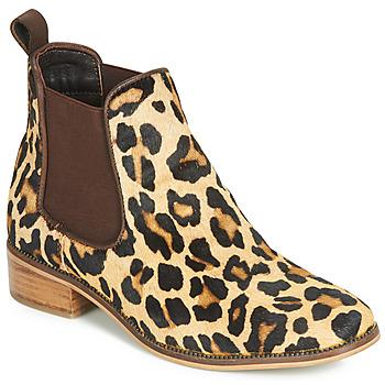 Pantofi Femei Ghete Ravel GISBORNE Leopard