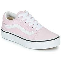 Pantofi Fete Pantofi sport Casual Vans UY OLD SKOOL Roz