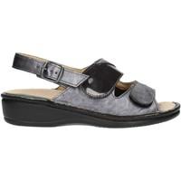 Pantofi Femei Sandale  Clia Walk Estraibile410 Anthracite
