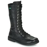 Pantofi Femei Cizme casual Kickers MEETKIKNEW Negru