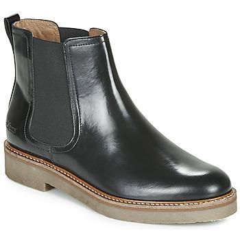 Pantofi Femei Ghete Kickers OXFORDCHIC Negru