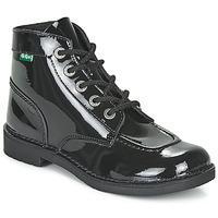 Pantofi Femei Ghete Kickers KICK COL Negru / Verni