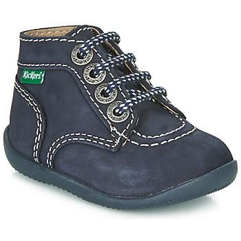 Pantofi Copii Ghete Kickers BONBON Bleumarin