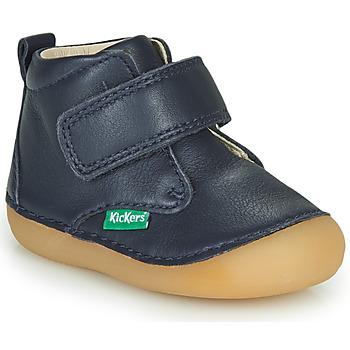Pantofi Copii Ghete Kickers SABIO Bleumarin