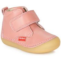 Pantofi Fete Ghete Kickers SABIO Roz