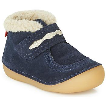 Pantofi Copii Ghete Kickers SOETNIC Bleumarin