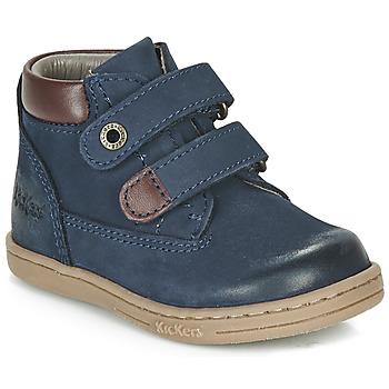 Pantofi Băieți Ghete Kickers TACKEASY Albastru