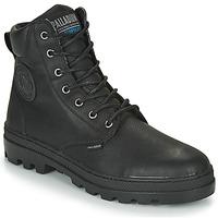 Pantofi Bărbați Ghete Palladium PALLABOSSE SC WP Negru