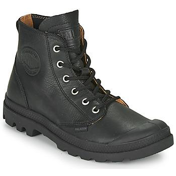 Pantofi Ghete Palladium PAMPA HI LTH UL Negru
