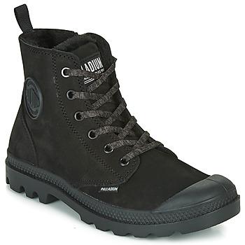 Pantofi Femei Ghete Palladium PAMPA HI ZIP WL Negru