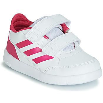 Pantofi Fete Pantofi sport Casual adidas Performance ALTASPORT CF I Alb / Roz