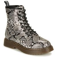 Pantofi Femei Ghete Refresh 69311-BLACK Gri