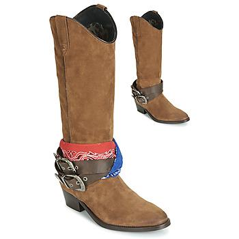 Pantofi Femei Cizme casual Replay FRUITLAND Camel