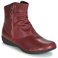 Pantofi Femei Ghete Josef Seibel NALY 24 Karminowy