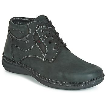 Pantofi Bărbați Ghete Josef Seibel ANVERS 35 Negru
