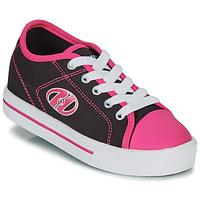Pantofi Fete Pantofi cu Role Heelys CLASSIC X2 Negru / Roz