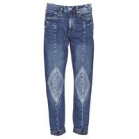 Îmbracaminte Femei Jeans boyfriend G-Star Raw 3301-L MID BOYFRIEND DIAMOND Albastru / Light / Vintage / Aged