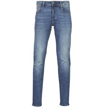 Îmbracaminte Bărbați Jeans slim G-Star Raw 3301 SLIM Albastru / Vintage / Medium / Aged