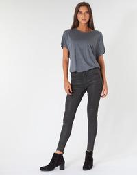 Îmbracaminte Femei Jeans skinny G-Star Raw ASHTIX ZIP HIGH SUPER SKINNY ANKLE WMN Negru