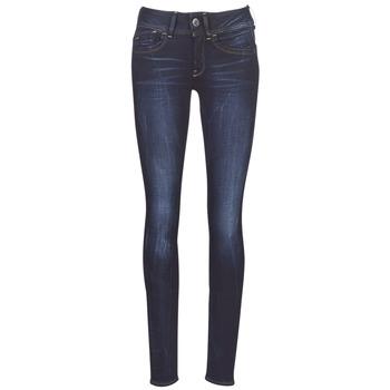 Îmbracaminte Femei Jeans skinny G-Star Raw LYNN MID SKINNY WMN Albastru / Faded / Blue