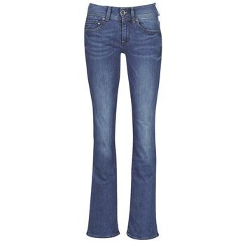 Îmbracaminte Femei Jeans bootcut G-Star Raw MIDGE MID BOOTCUT WMN Albastru / Faded / Blue