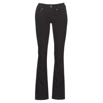Îmbracaminte Femei Jeans bootcut G-Star Raw MIDGE MID BOOTCUT WMN Negru